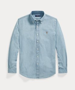 Camicia polo ralph lauren chambray