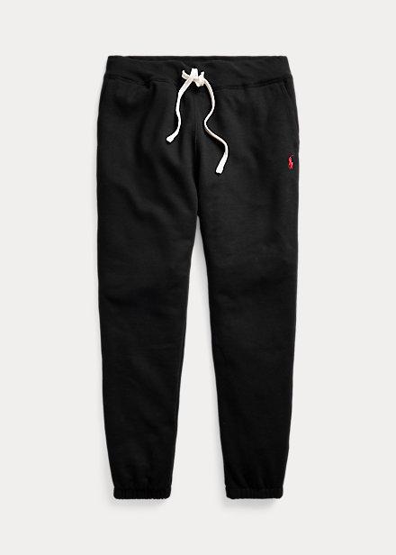 pantalone tuta ralph lauren nera