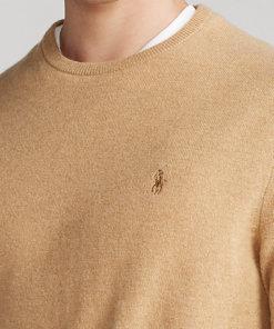 pullover camel melange
